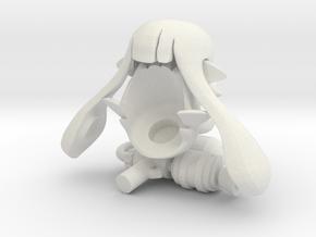 Custom Splatoon Inspired Lego Pack in White Strong & Flexible