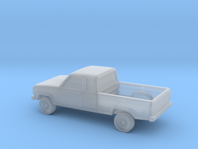 1/87 1983-88 Ford Ranger Ext Cab in Smoothest Fine Detail Plastic