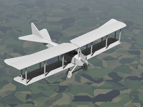 Albatros B.I (Benz, various scales) in Gray PA12: 1:144