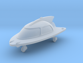 Space Car 2 in Smooth Fine Detail Plastic
