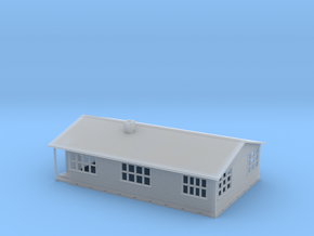n scale house in Smooth Fine Detail Plastic
