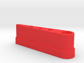 CSF#4 - 3 Inch Bat GB PKE - Pinball Flipper Bat in Red Processed Versatile Plastic