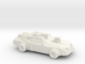Thunder Road V8 Interceptor  in White Natural Versatile Plastic