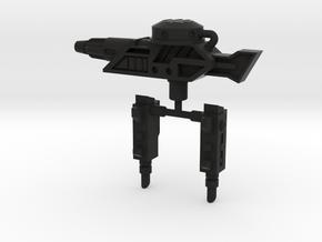 PRHI Transformers Hosehead Weapons in Black Natural Versatile Plastic