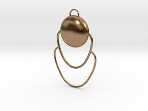 Design 8 in Natural Brass