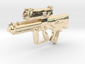 "1/18 XM-25 ""Punisher"" CDTE in 14K Yellow Gold"