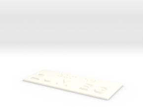 ZUM EG in White Processed Versatile Plastic