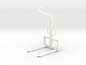 1:50 Palettengabel / Fork in White Processed Versatile Plastic