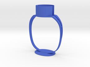 Motor Stand in Blue Processed Versatile Plastic