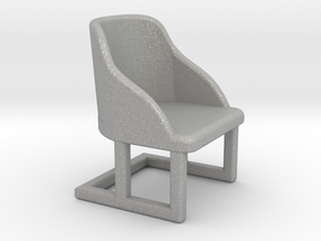 Chair, Art Deco 1:48 in Aluminum