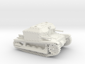 Tancik Vz33 Tankette in White Strong & Flexible: 1:100