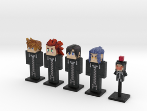 Organization XIII- Days 5-pack (Weaponless) in Full Color Sandstone