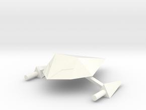 Drone Type 1 in White Processed Versatile Plastic