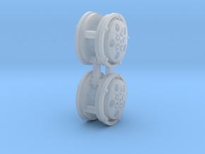 Panhard Wheels X-84 in Smooth Fine Detail Plastic