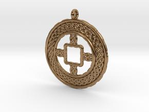 TreeSin C2S Pendant in Natural Brass