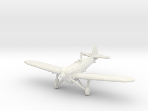 Dewoitine D.510 in White Strong & Flexible: 1:200