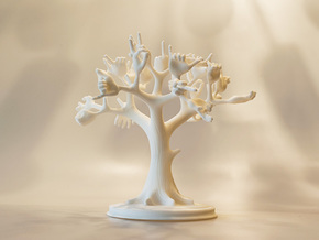 hands tree in White Natural Versatile Plastic