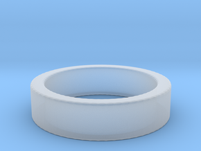Basic Ring US6 in Smooth Fine Detail Plastic