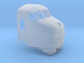 Plan U (1:45) in Smooth Fine Detail Plastic