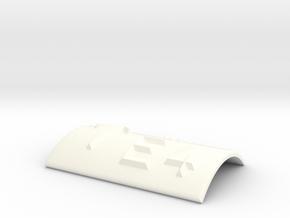 E4 mit Pfeil nach oben in White Processed Versatile Plastic
