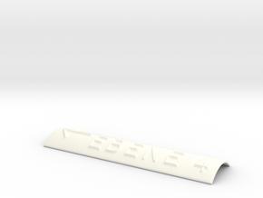 EBENE 4 mit Pfeil nach links in White Processed Versatile Plastic
