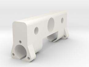 CNC Side mount in White Natural Versatile Plastic
