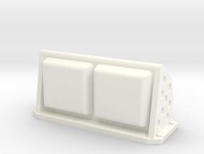 TAMIYA PORSCHE 959 BRAKE LIGHT - LAMP in White Processed Versatile Plastic