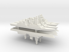 FREMM & Horizon Frigates Pack, 1/2400 in White Natural Versatile Plastic
