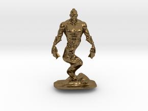 Djinn Genie Miniature in Natural Bronze