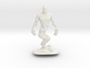 Djinn Genie Miniature in White Natural Versatile Plastic