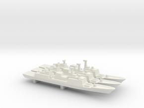 Chungmugong Yi Sun-sin-class x 3, 1/2400 in White Natural Versatile Plastic