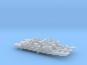 Chungmugong Yi Sun-sin-class x 3, 1/2400 in Smooth Fine Detail Plastic