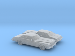 1/160 2X 1974 Buick Riviera in Smooth Fine Detail Plastic