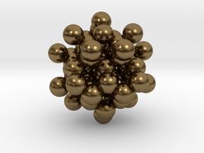 Diamond Blackberry Pendant C56 in Natural Bronze