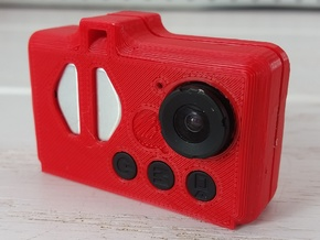 Mobius Camera - MoPro Mod in Red Strong & Flexible Polished