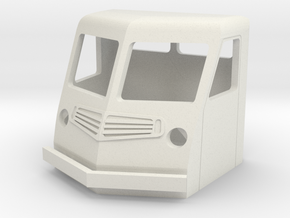 Fs-1-87-far-cab-1a in White Natural Versatile Plastic