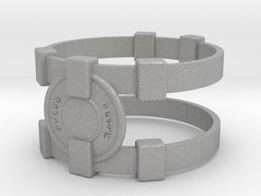 Brainy Bracer ver.1 in Aluminum
