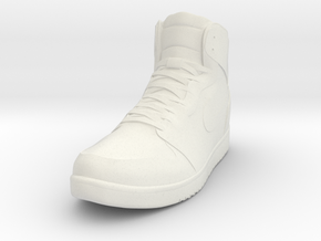 Nike Jordan 1 in White Natural Versatile Plastic