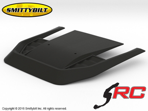 AJ10037 Smittybilt Stingray Hood in Black Strong & Flexible