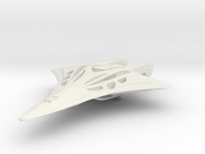 Wraith Cruiser in White Natural Versatile Plastic