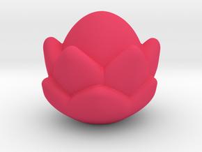 Small Lotus Massage Tool in Pink Processed Versatile Plastic