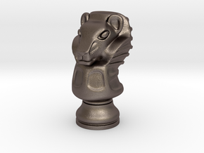13Lion Small Single in Stainless Steel