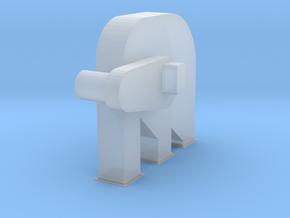'N Scale' - Bucket Elevator-Head 3mmx3mm in Smooth Fine Detail Plastic