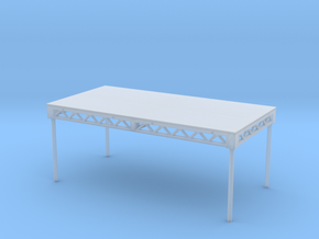 1:50 Steeldeck 8x4 with legs in Smooth Fine Detail Plastic