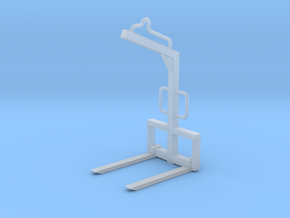 1:50 Palettengabel / Fork in Smooth Fine Detail Plastic