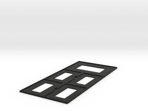Guild Panel in Black Natural Versatile Plastic