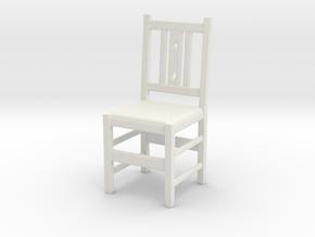 Chair  in White Natural Versatile Plastic