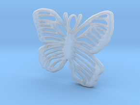 Life is Strange Butterfly Pendant in Smooth Fine Detail Plastic