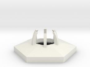 project: uranium hexagon body in White Natural Versatile Plastic