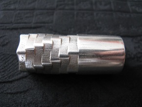 Silver AAA Torch 2 Head (Flashlight) in Polished Silver